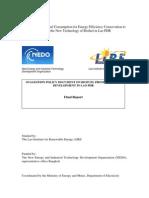 LIRE-Biofuel Production Final Report-NEDO