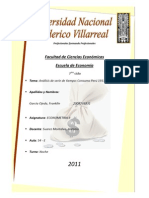 Consumo Peru 1911 - 2010