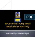 BPCL's Petrol Pump Retail Revolution Case (Retail Marketing)