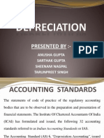 Accounting Standard 6 - Depreciation