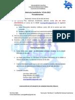 Matrícula Insatisfecha - II C 2012