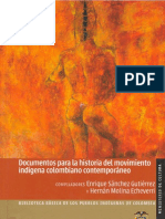 01 Documentos Para La Historia Del Movimiento Indigena Colombiano Contemporaneoedit1