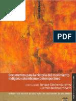 01 Documentos Para La Historia Del Movimiento Indigena Colombiano Contemporaneoedit1
