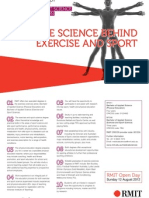 RMIT_The Science Behind Exercise and Sport