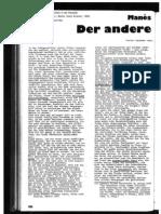 Manes Sperber - Gustav Landauer