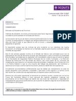 Comunicado JSN 12.007 Prevencion y Seguridad en Campamentos