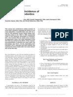 Survey of Incidence of Single Visit Endodontics