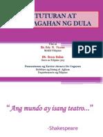 Filipino 505- Katuturan Ng Dula