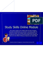 Study Skills Module