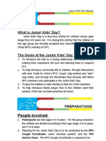 Junior Kids Day Manual