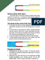 Junior Kids Day Manual