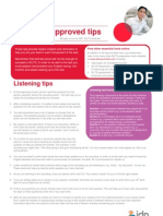 Examiner-Approved IELTS Tips