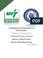 Software de Aplicaciones Hugo Reyes Flores