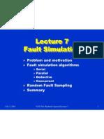 fault simulation