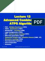 advanced  combinational atpg