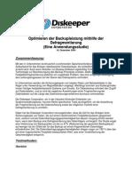 Optimierung der Backupleistung mit Bandlaufwerken durch Defragmentierung