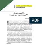 Jean Laplanche - Psicoanálisis ¿Historia o Arqueología.  By Psicoanálisis Universidad UP