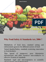 Fssai - Food Safety Ppt PDF
