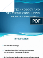 Technology and Strategic Consulting Ppt