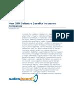 CRM in Insurance