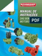 Manual de Instruções das Bombas e Motobombas