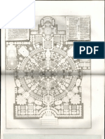 Pianta di ampio magnifico collegio formata sopra l'idea dell'antiche Palestre de'Greci, e Terme de'Romani