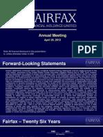 2012 AGM Slide Presentation_Fairfax-Financial-Holdings