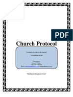 Church Protocol
