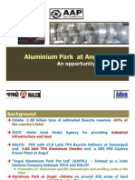 Presentation on Aluminum Park at Anugul-Odisha by NALCO[1]