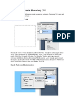 Creating Patterns in Photoshop CS2