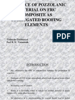 Influence of Pozzolanic Material on Frc Composite As