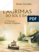 Sandra Carvalho - A Saga das Pedras Mágicas 3 - Lágrimas do Sol e da Lua