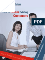 How to Retain Existing Customers