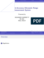Robust High-Accuracy Ultrasonic Range Measurement System