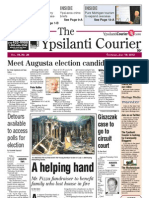 Ypsilanti Courier front page July 19