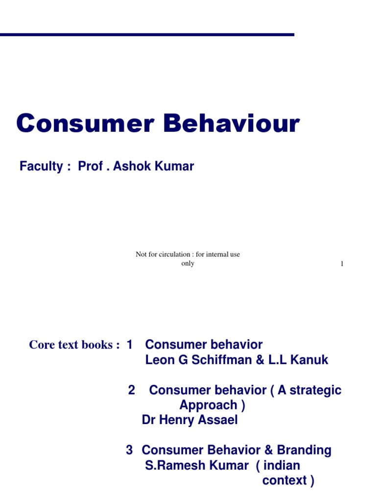 "consumer behaviour theory is all fine Jeff bray consumer behaviour theory: approaches and models ""consumer behaviour is the study of the processes involved when."