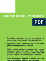 Lecture Drainage