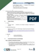 Strategic Management Lesson 8