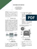 Motores Sincronos,Cmr Maquinas 2