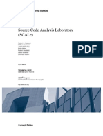 Source Code Analysis Laboratory (SCALe)