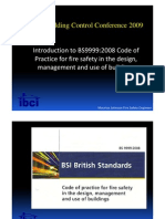 Introduction to BS9999_2008 - Maurice Johnson