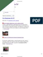Car Insurance in NJ | carinsurance-innj.com