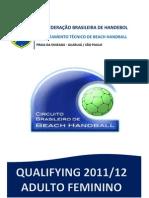 Relatorio Qualifying 2011-12 Feminino