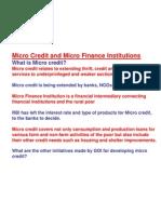Micro Credit