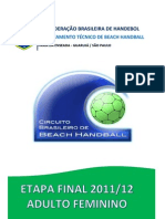 Relatório Final Brasileiro Feminino 2011-12