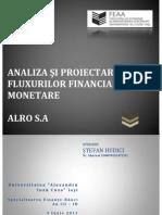 Proiect Specialitate ALRO SA Stefan Hudici