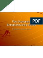 Few Successful Entrepreneurship Stories for Recruitment