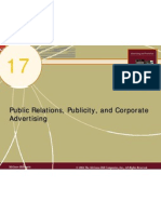 Chap17 Public Relations Publicity and Corporate Advertising