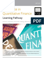 2012 CQF Learning Pathway