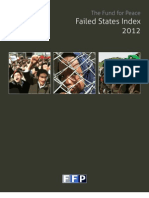 Failed States Index 2012